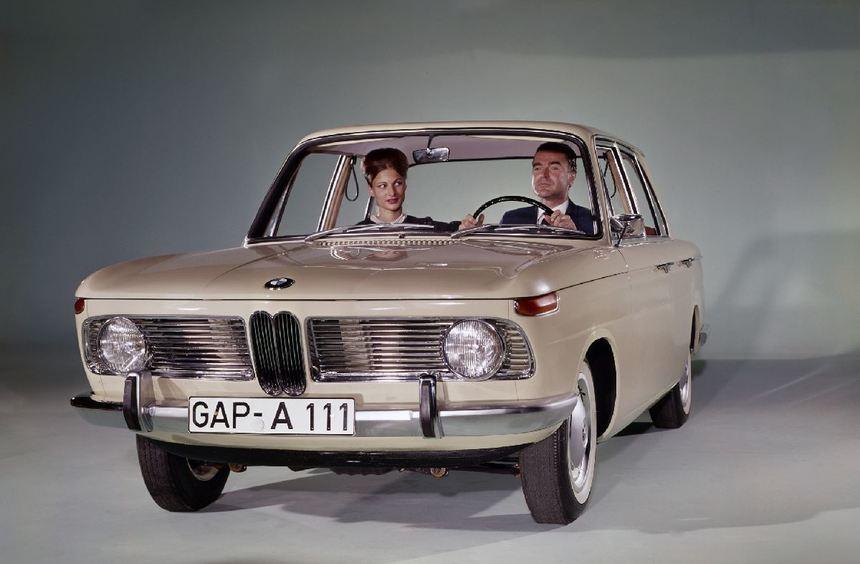 Mit der Neuen Klasse begann für BMW 1961 eine neue Ära