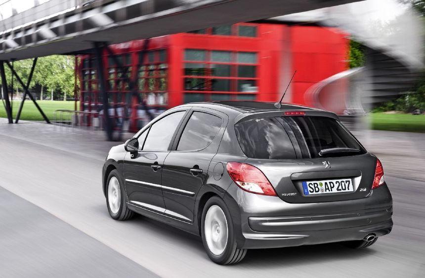 Peugeot ordnet die Ausstattungsliste für den 207 neu