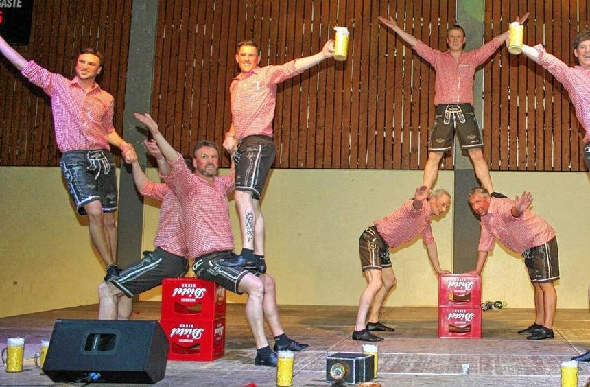 Die Mannschaft aus Hainstadt ertanzte sich beim Turnier in Walldürn den dritten Platz.