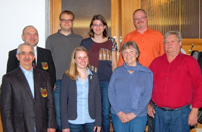 Die DLRG-Ortsgruppe Höpfingen ehrte in ihrer Jahreshauptversammlung langjährige Mitglieder.