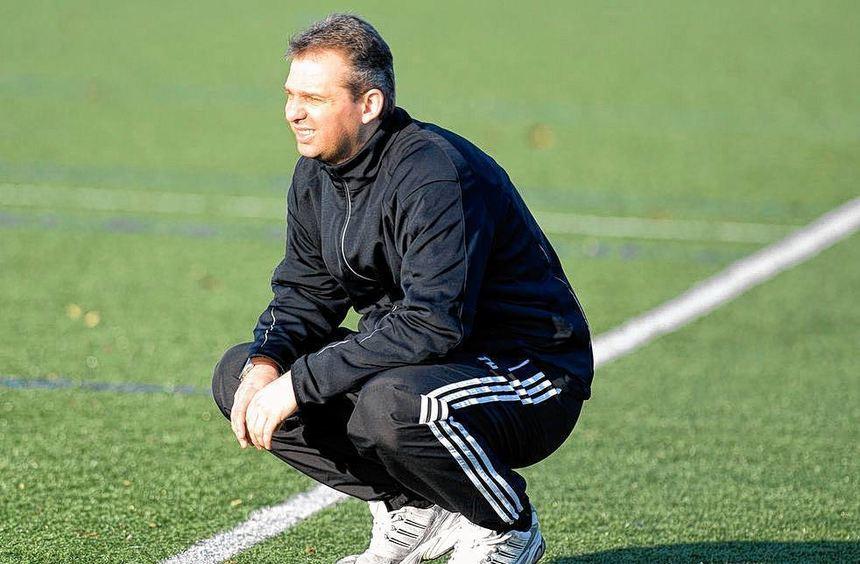 Mit Holger Taube als neuem Trainer ging es bei Eintracht Bürstadt schon im alten Jahr aufwärts.
