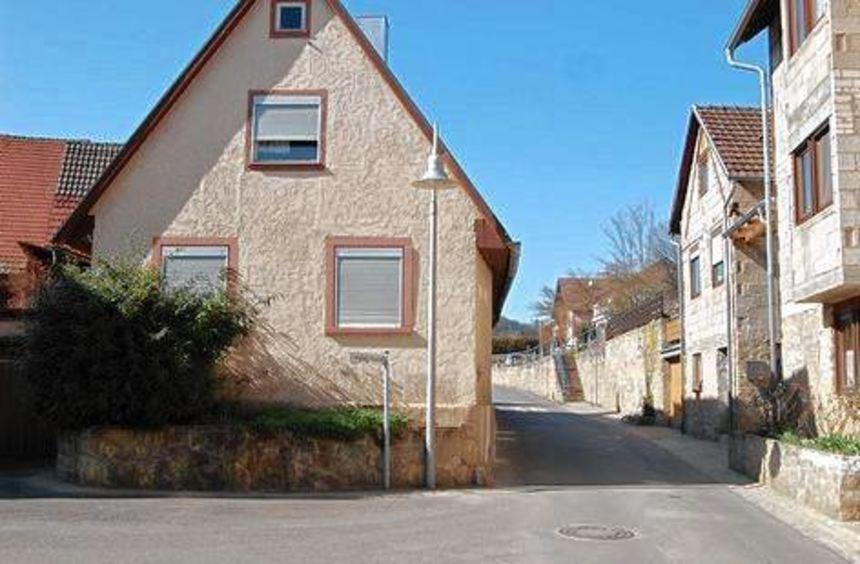 Die Ecke Kolpingstraße/Weinstraße wird neu gestaltet.