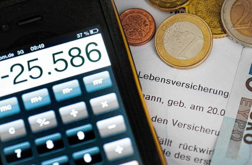 Niedrige Zinsen machen den deutschen Lebensversicherern zu schaffen.
