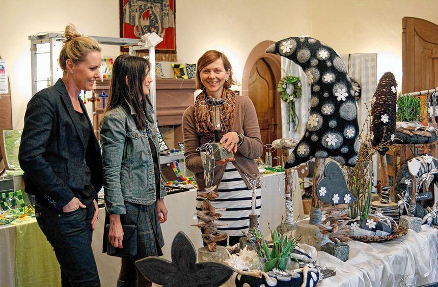 Zum Josefsmarkt wird es wieder eine Kunstausstellung im Hardheimer Schloss geben. 20 Künstler und ...