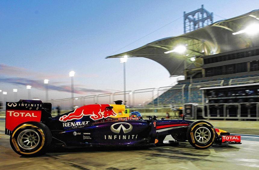 """Mit """"Suzie"""" wird Sebastian Vettel ab Freitag im Melbourne versuchen, mit der Konkurrenz ..."""