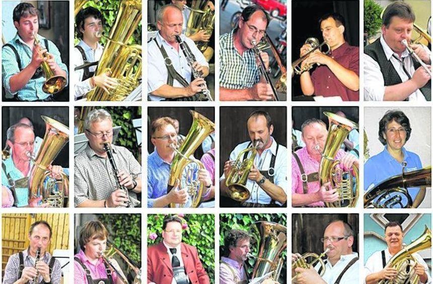 """Das Orchester """"BlechIntakt"""" gibt unter der Leitung von Musikdozent Freek Mestrini am 23. März um ..."""