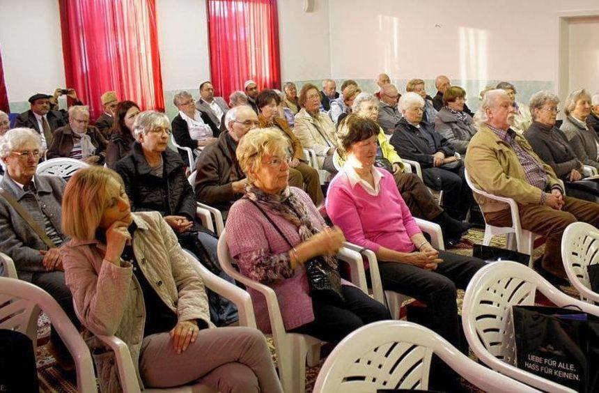 Die Senioren-Union besuchte die Moschee in Bensheim.
