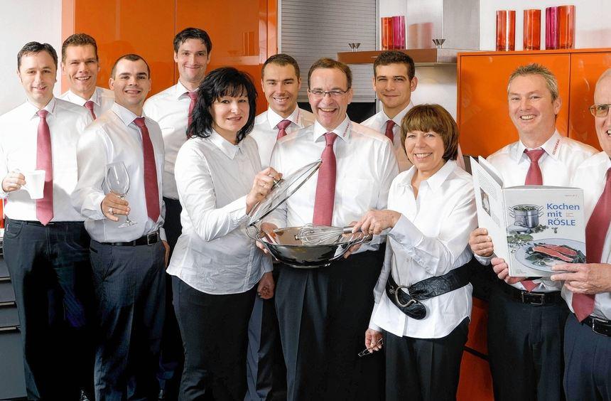 Das Team von Küchen Kall sorgt für kompetente Beratung.