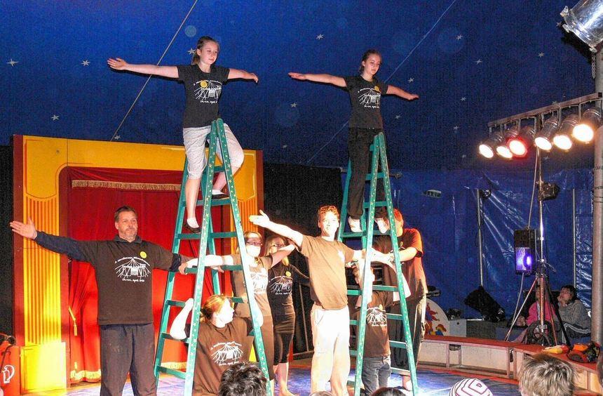 Im Jahr 2012 war der Mitmachzirkus das letzte Mal zu Gast in Nordheim, jetzt kommt er zum dritten ...
