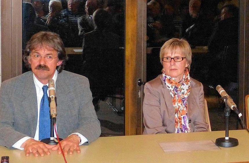 Expertenrunde: Dr. Albrecht Rottmann, Cornelia Wetterich und Andreas Hein (von links) informierten ...