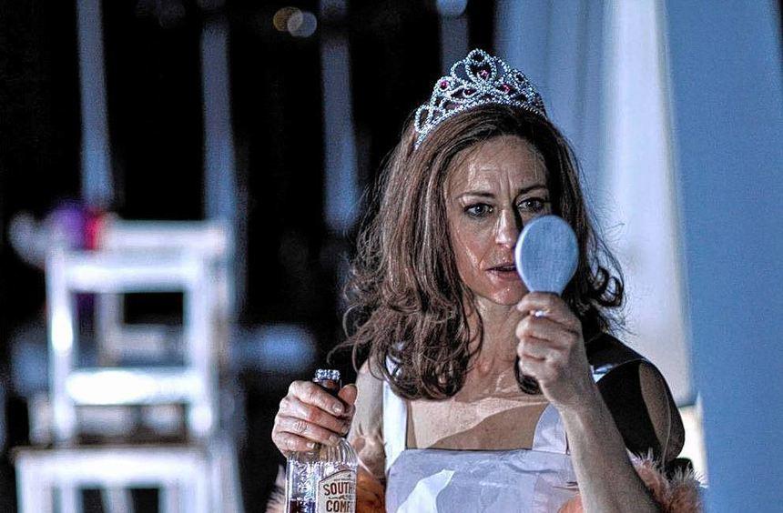"""Cornelia Heilmann glänzte in """"Endstation Sehnsucht"""" als Blanche Dubois."""