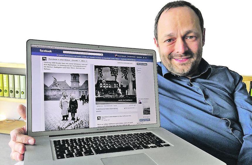 """Seine """"andere Seite"""": Eigentlich designt Daniel Bönisch Web-Auftritte - hier zeigt er seine ..."""