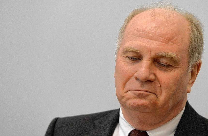 Das Urteil schmeckt Uli Hoeneß nicht. Er hatte wohl gehofft, dass seine Strafe zur Bewährung ...