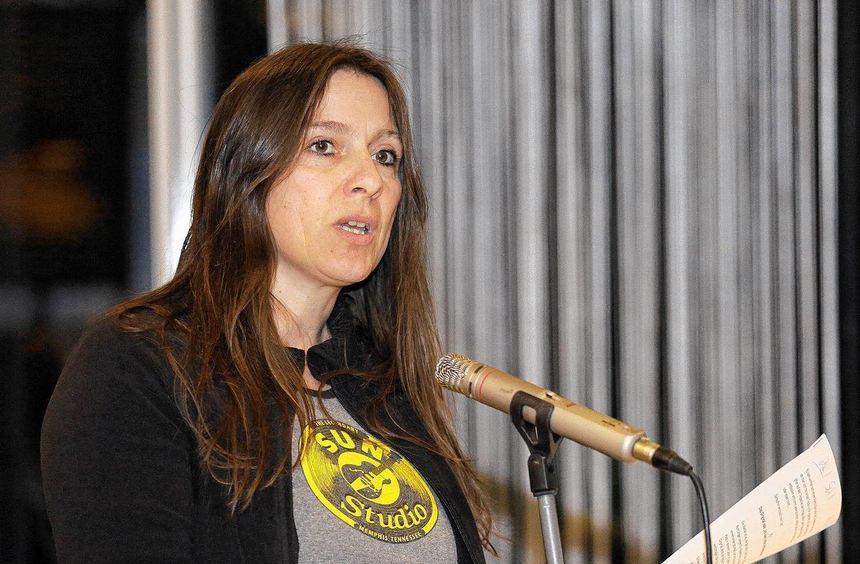 Plädoyer für Mut - auch zum letzten Platz: Karin Ludwig.