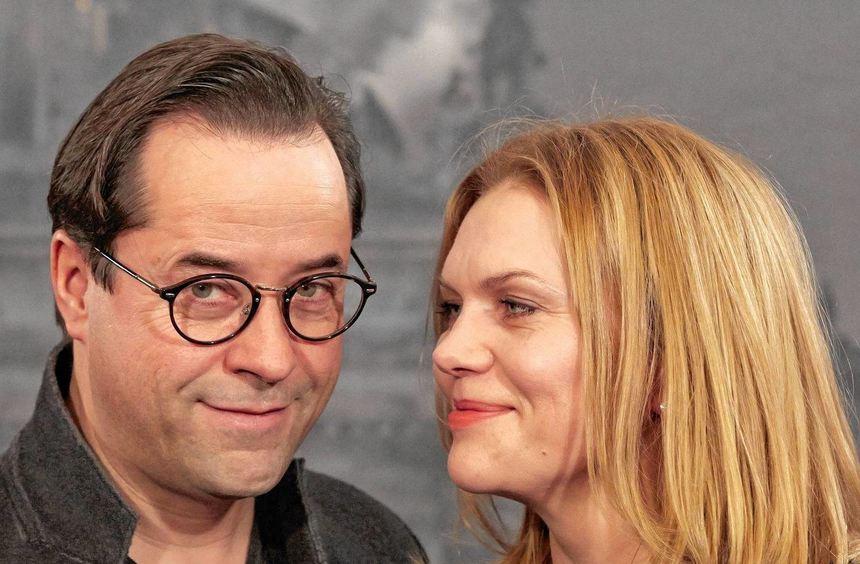 Werden in Ludwigshafen geehrt: Das Schauspielerpaar Anna Loos und Jan Josef Liefers.