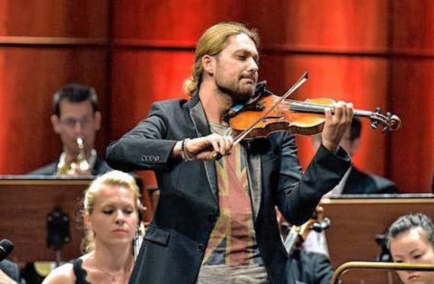 David Garrett spielt im Rosengarten ein ganz klassisches Programm.