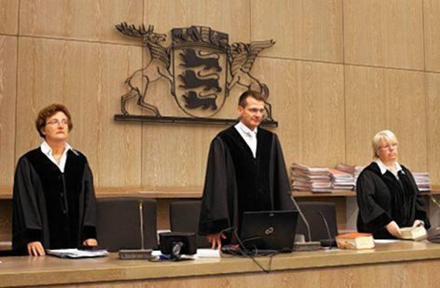 Die Strafkammer 5 unter Vorsitz von Gerd Rackwitz (Mitte).