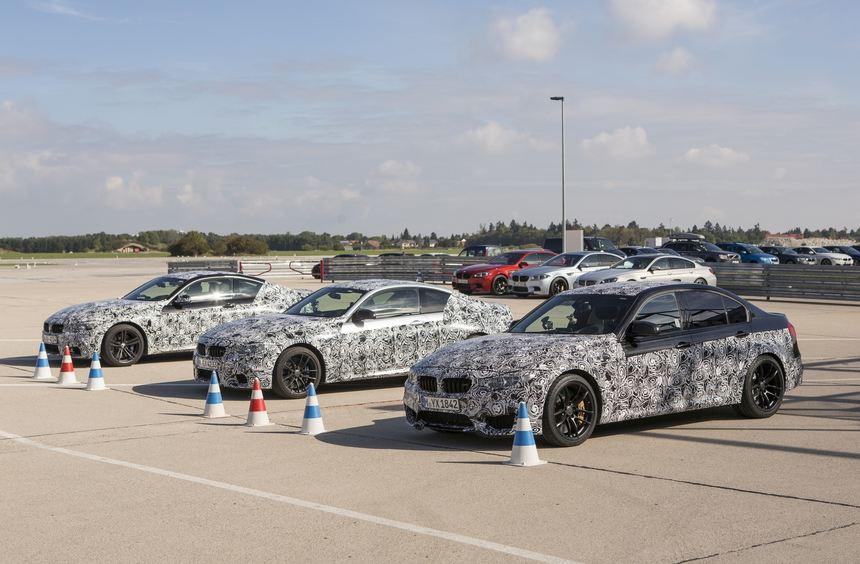 Bei der fünften Generation des BMW M3 und der nunmehr auf M4 getauften Coupé-Version (hier noch ...