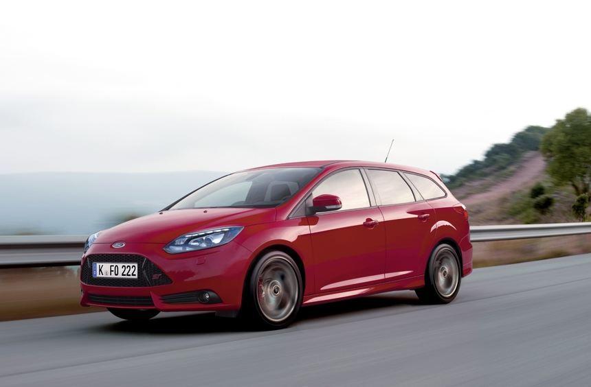 Den neuen Ford Focus ST gibt es auch als Kombi