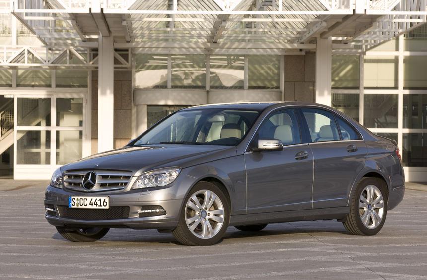 Die Mercedes C-Klasse kommt auf Rang 4