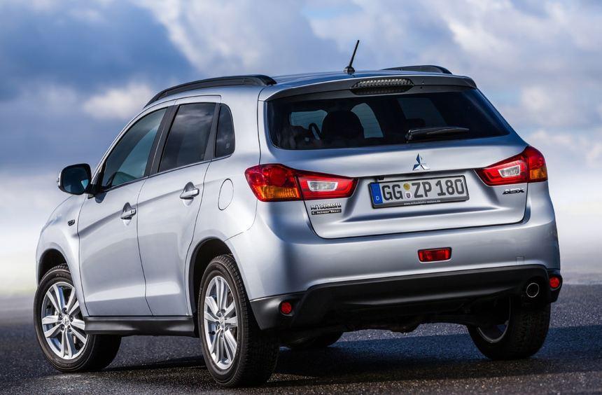 Leicht überarbeitet startet der Mitsubishi ASX ins Modelljahr 2013