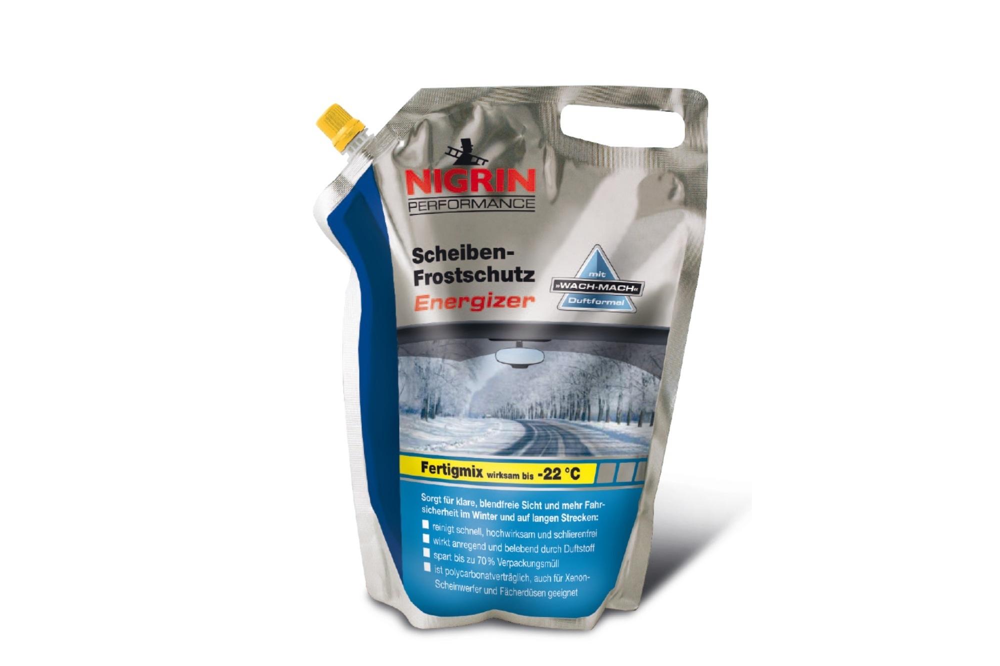Wischwasser-Frostschutz - Energy-Drink aus der Düse