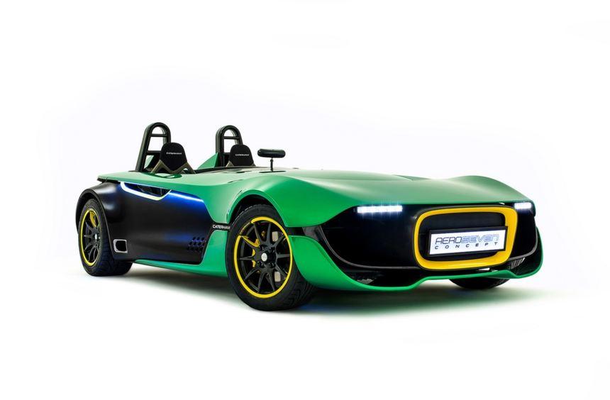 So wie das Caterham Aero Seven Concept wird das Serienmodell nicht aussehen.
