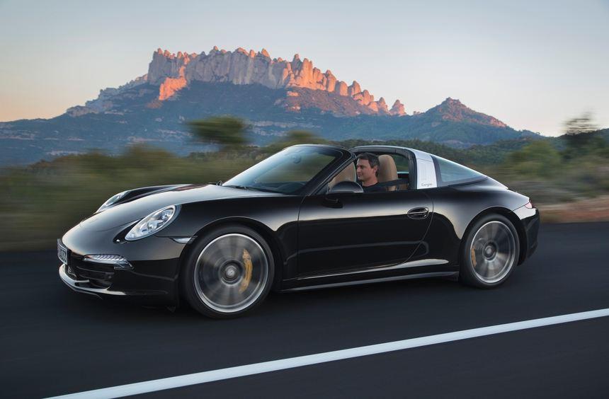 Porsche kehrt mit dem neuen 911 Targa wieder zur Tradition zurück