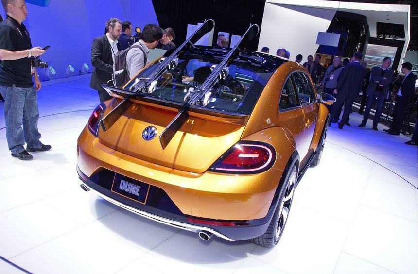 VW hat in Detroit eine Version des Beetle in Offroad-Optik vorgestellt