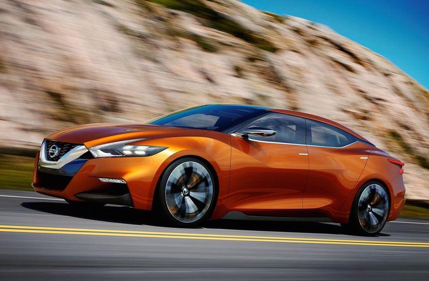 Der Nissan Sport Sedan weist auf den kommenden Maxima hin