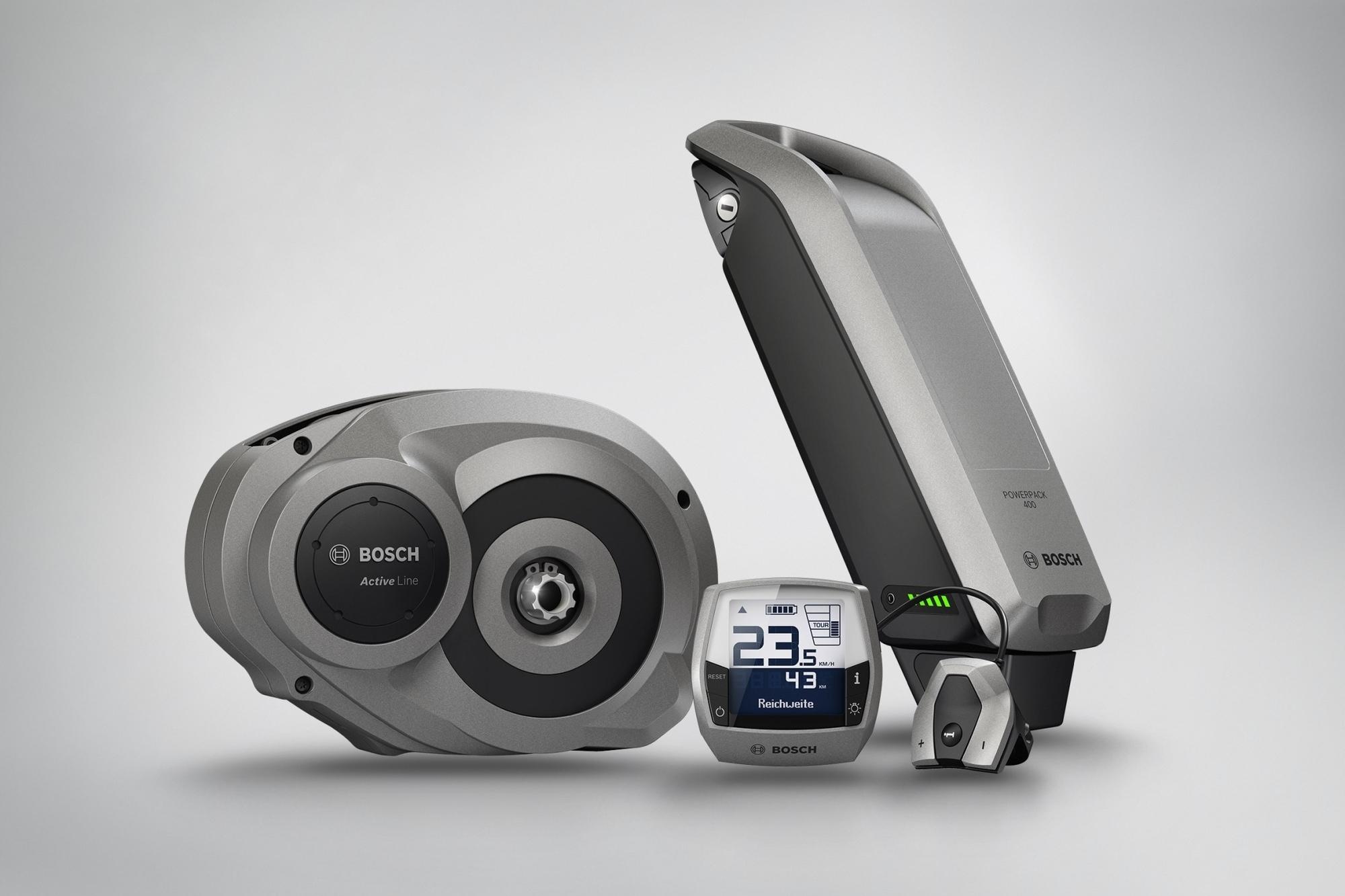 Neue Bosch-Elektromotoren für Fahrräder - Einmal sportlich – einmal komfortabel