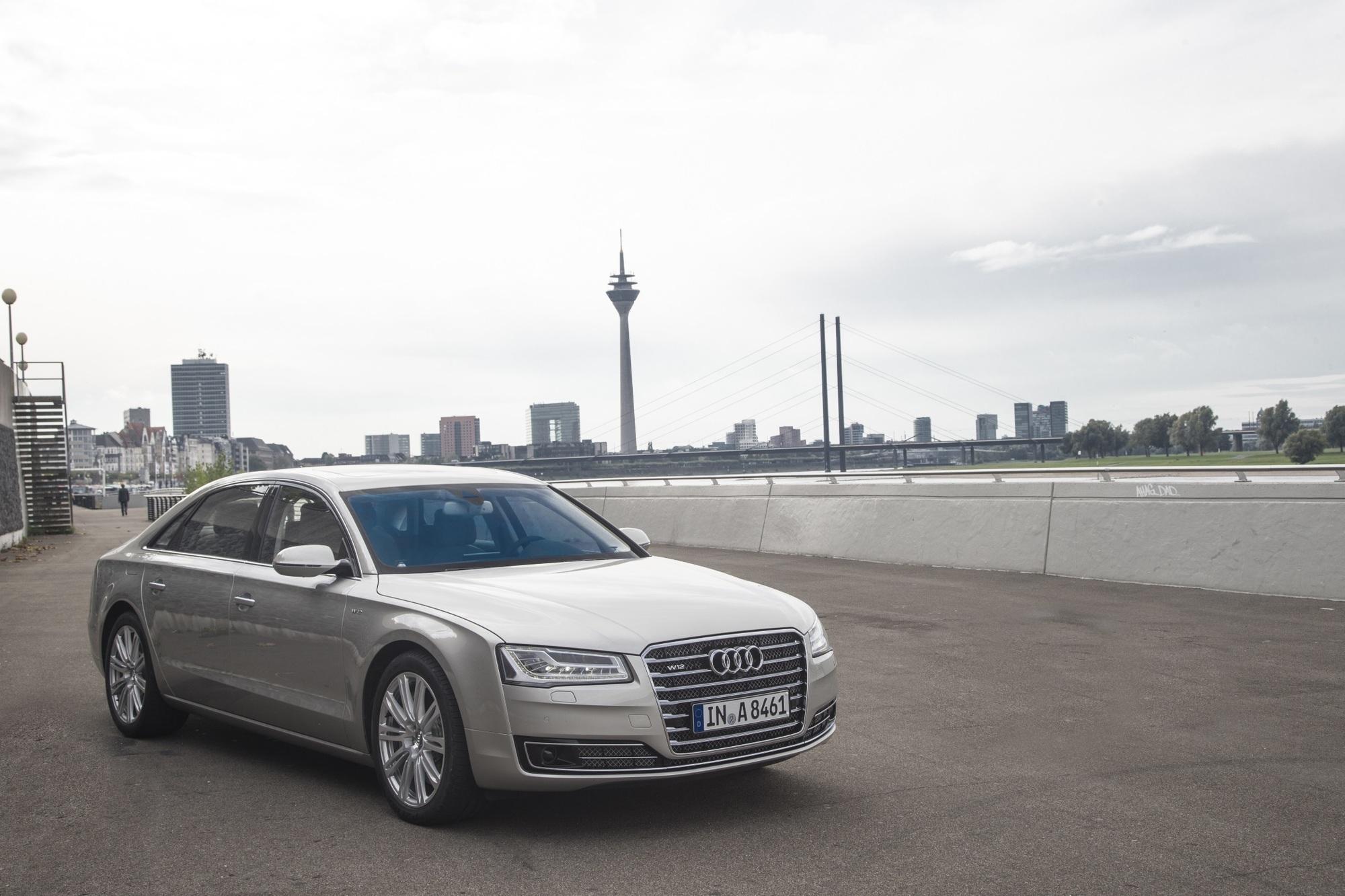 Test: Audi A8 TFSI Quattro - Das Chauffeursauto zum selbst fahren