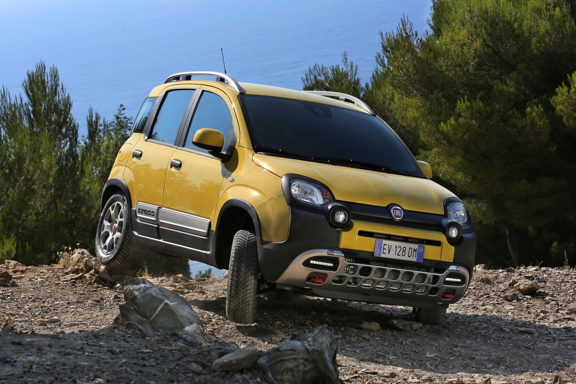 Fahrbericht: Fiat Panda Cross - Wackerer Winzling