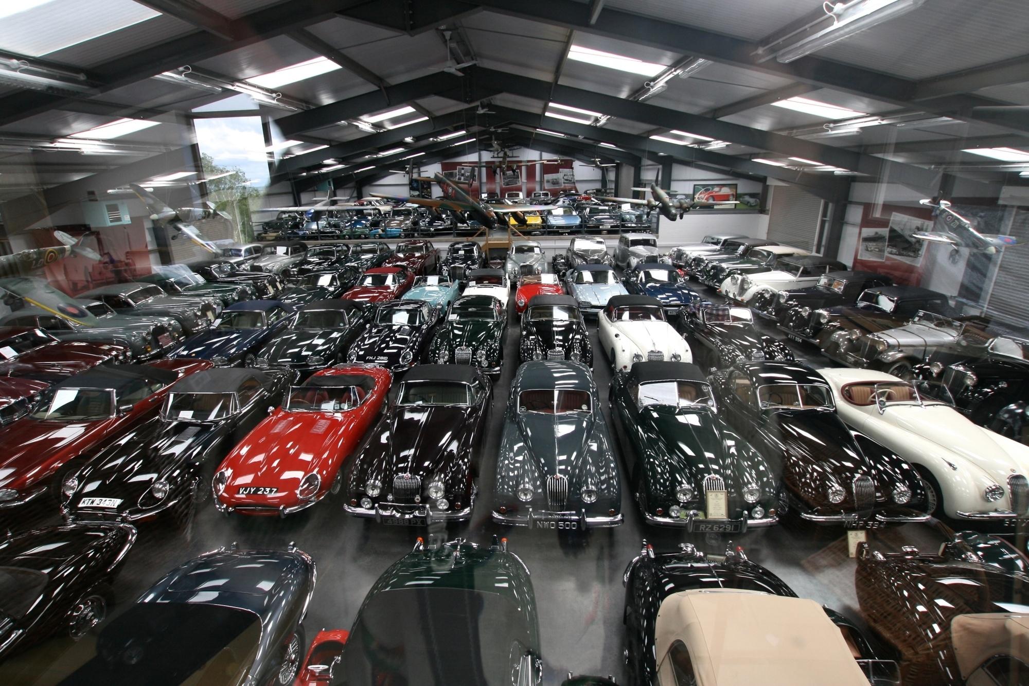 Jaguar kauft Oldtimer-Sammlung - Zuwachs fürs Blech-Archiv