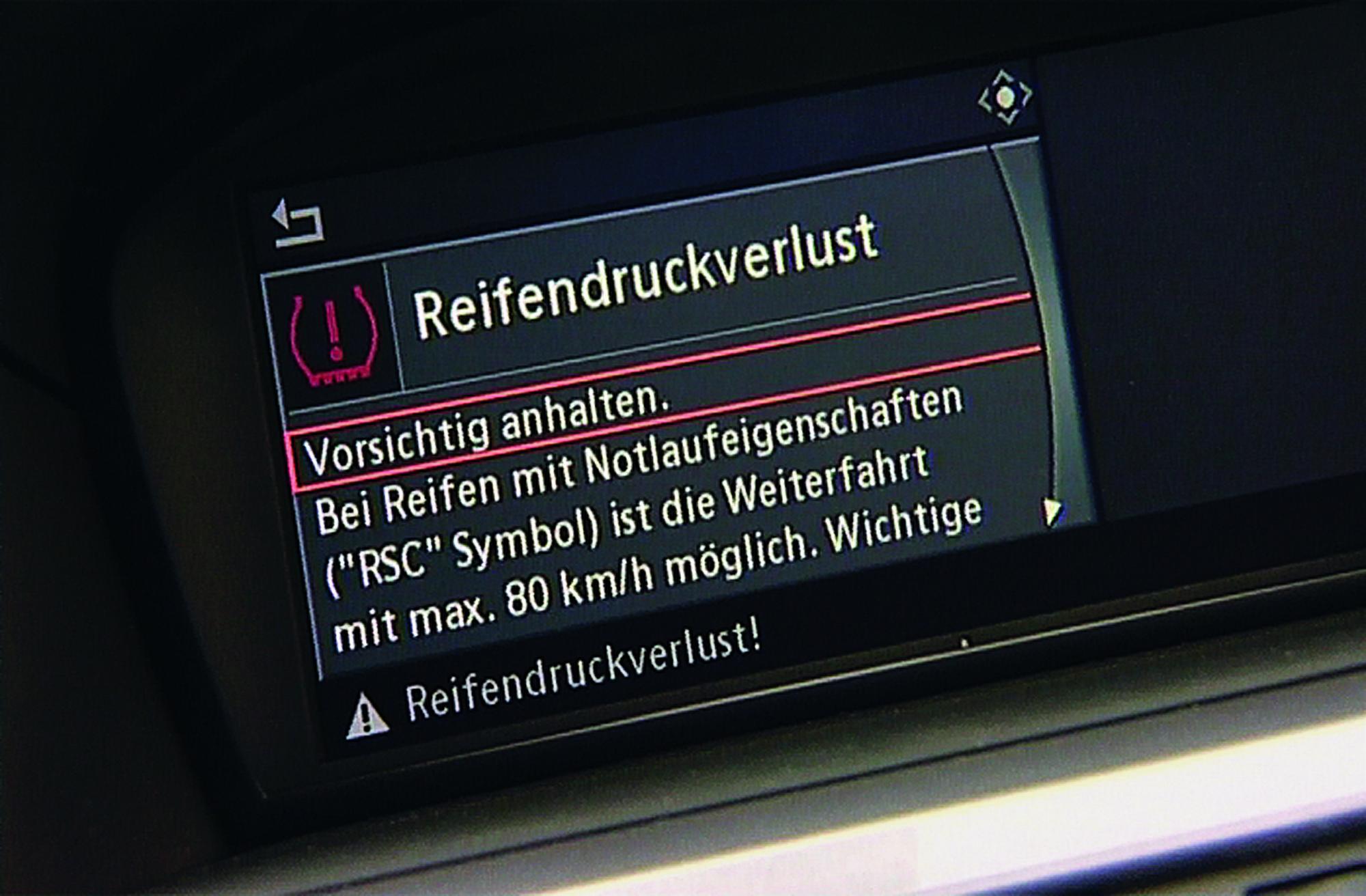 Elektronische Reifendruckkontrolle - Mehr Sicherheit, mehr Kosten