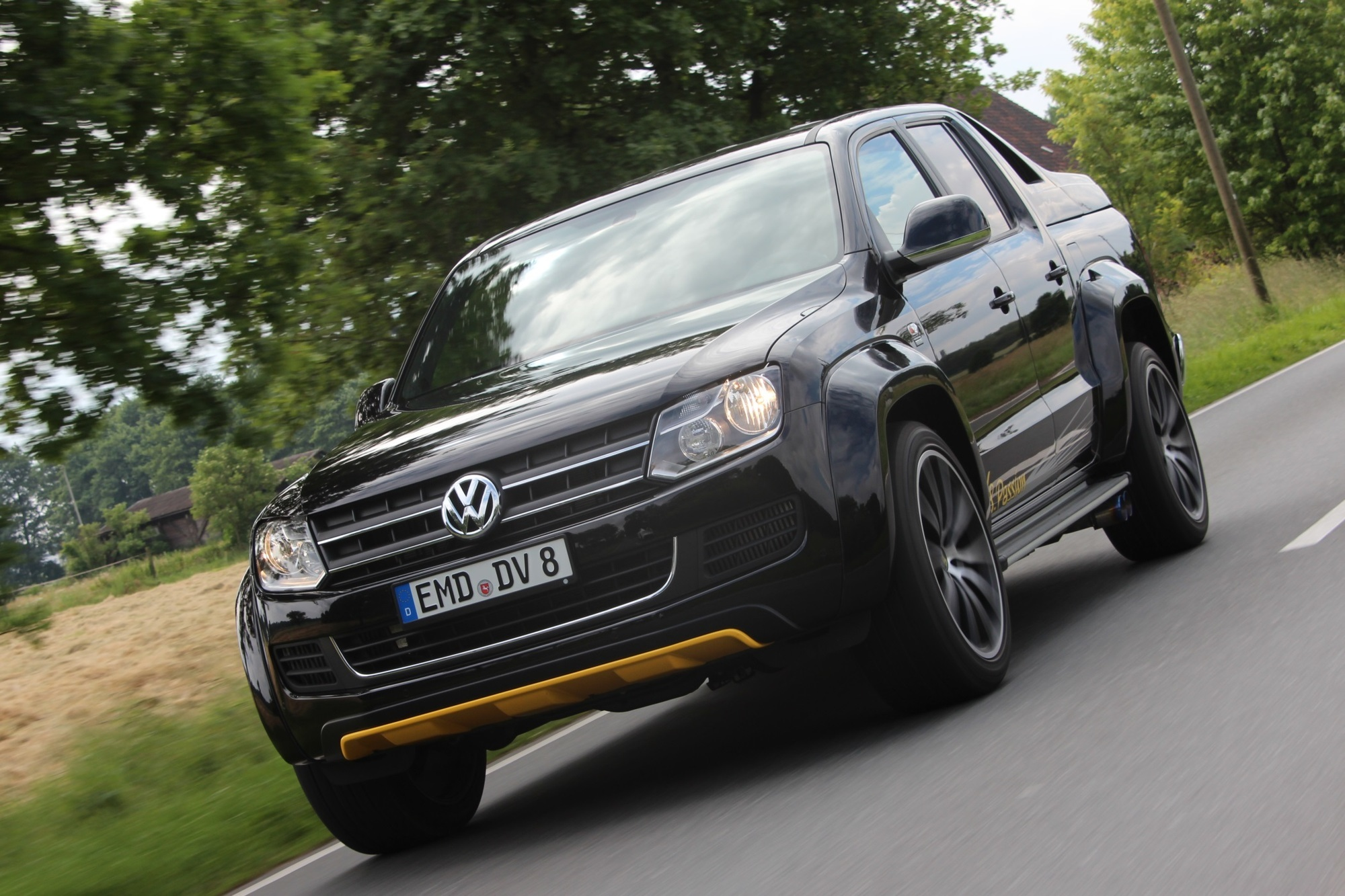 Panorama: VW Amarok V8 - Passion: Lust am Laster