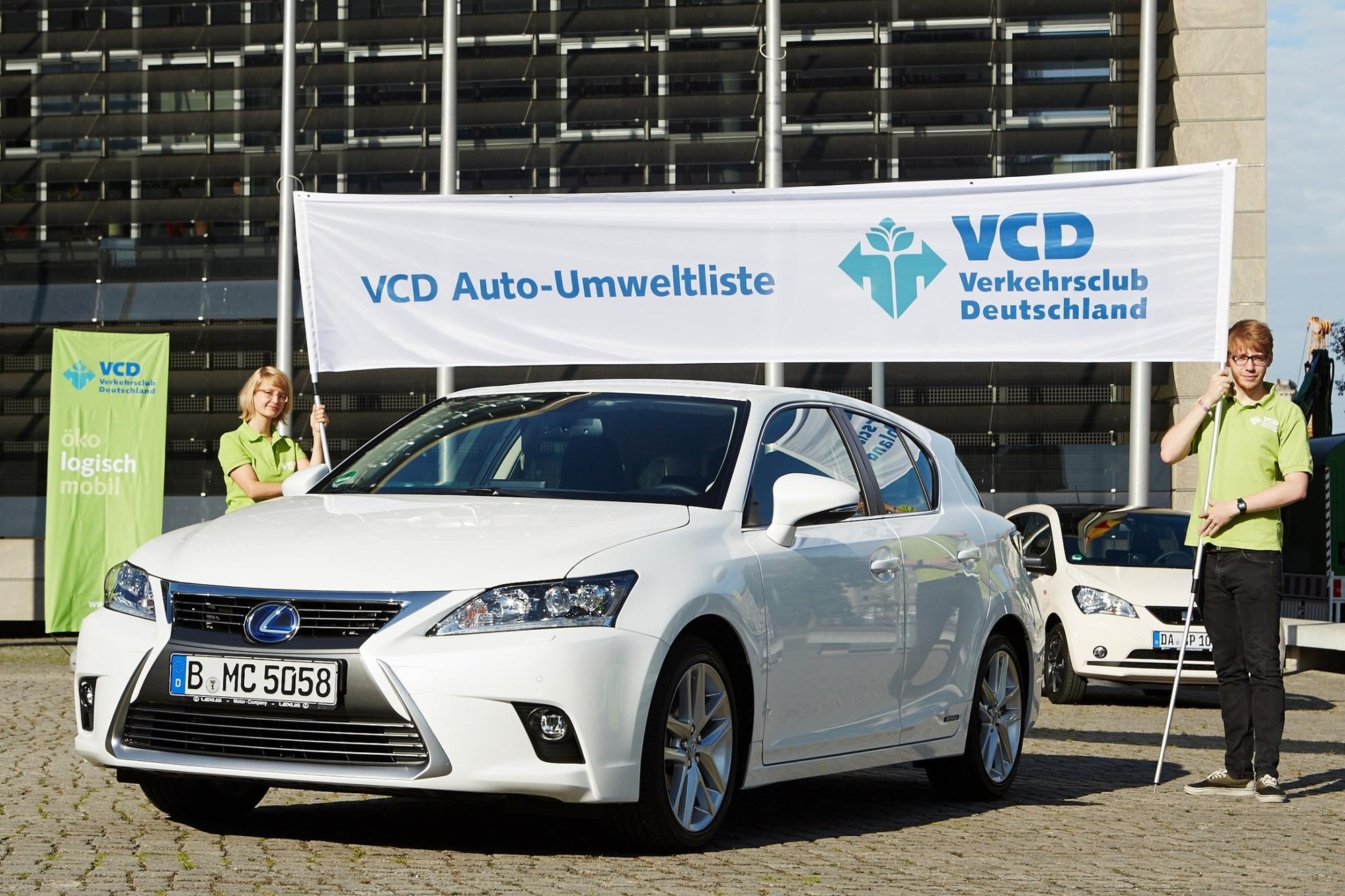 VCD Auto-Umweltliste - Besonders öko