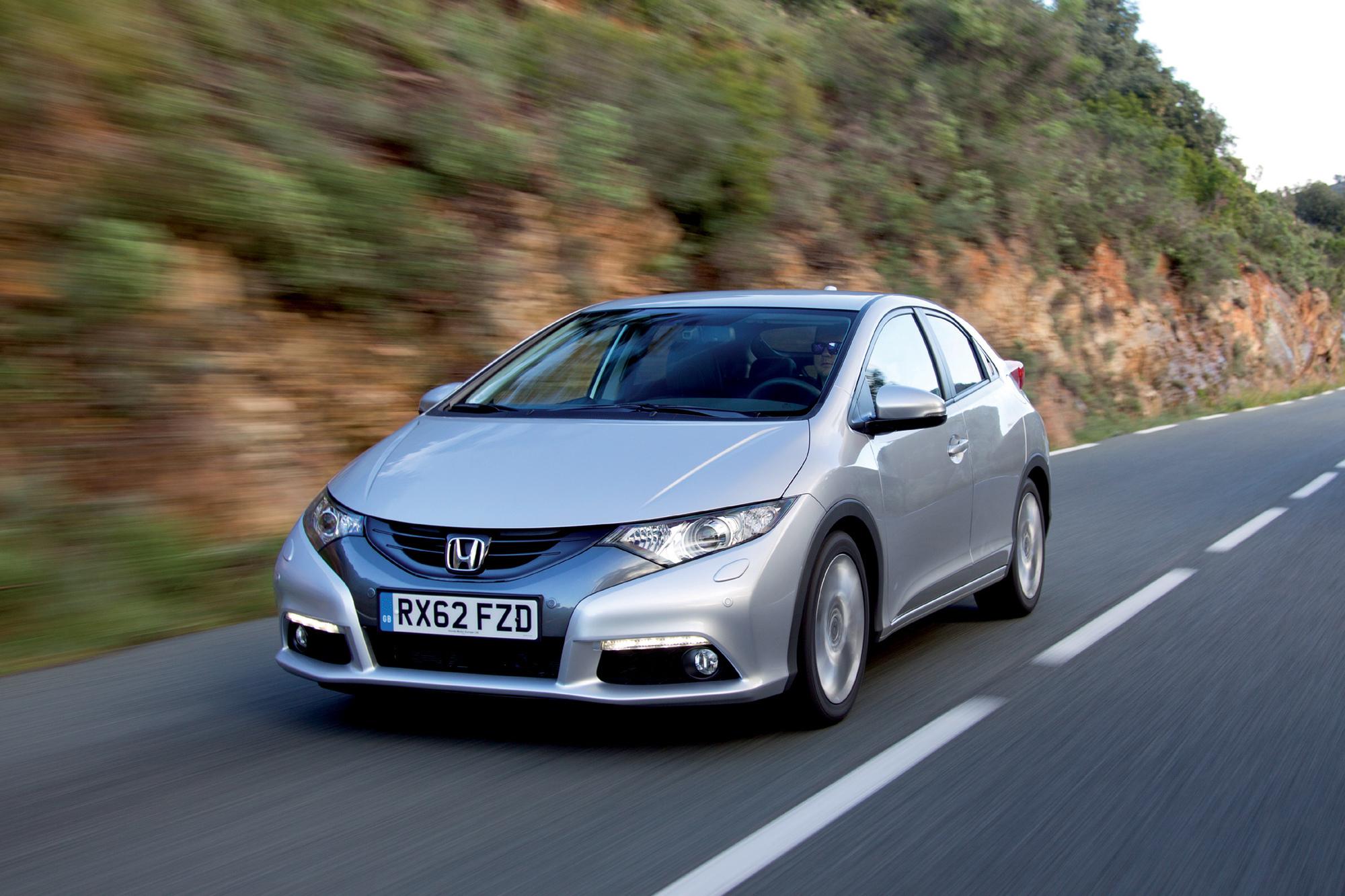 Test: Honda Civic 1.6i-DTEC - Einmal nur den Motor, bitte
