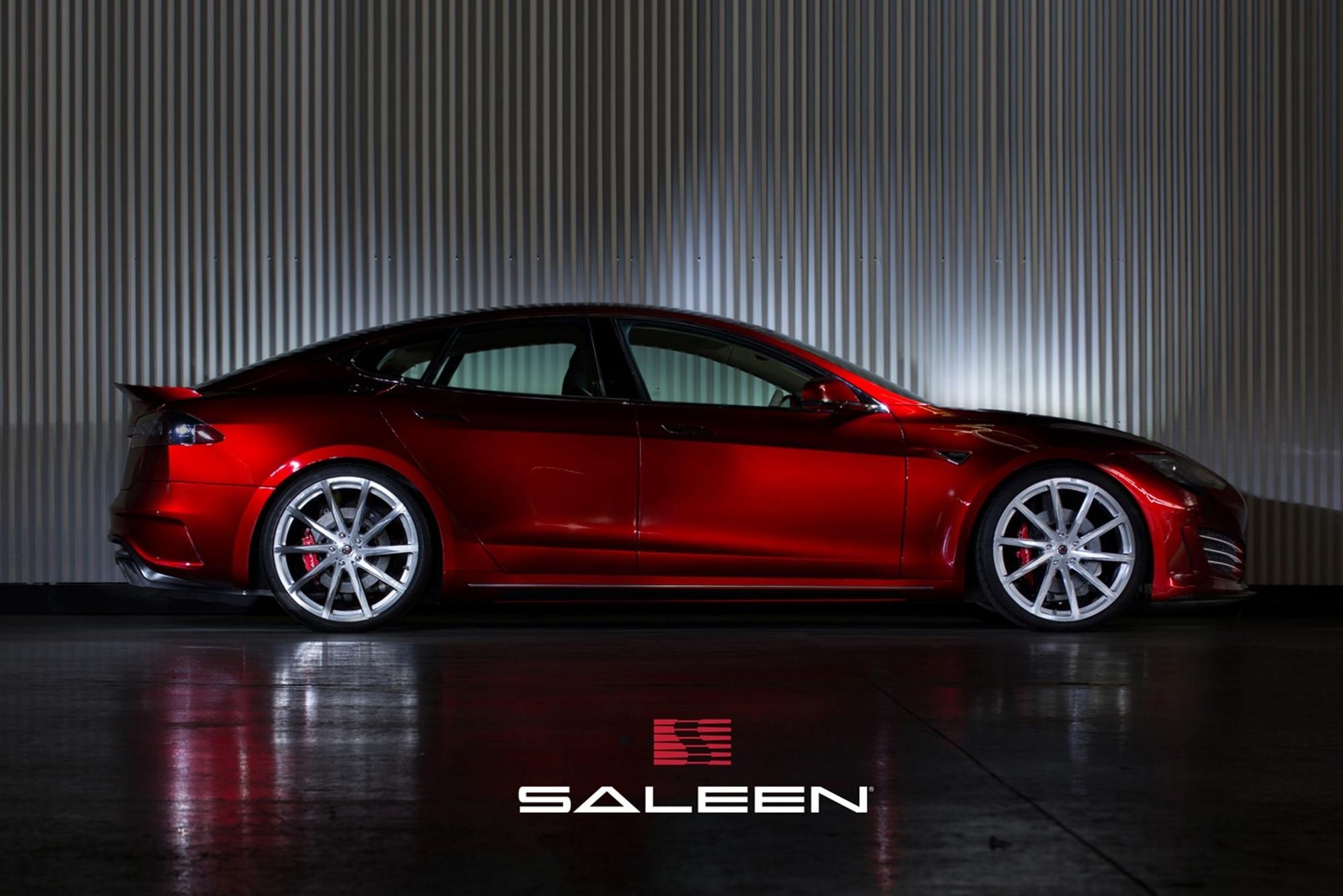 Saleen Foursixteen - Stromstoß für den Tesla S