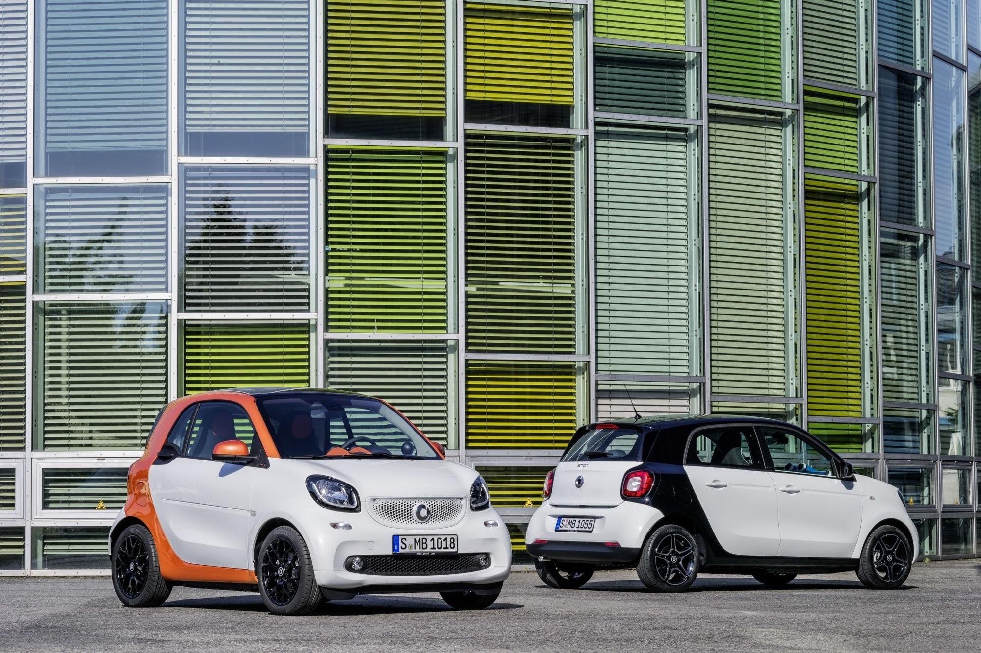 Neuer Smart Fortwo und Forfour - Viel mehr Auto für wenig Aufpreis