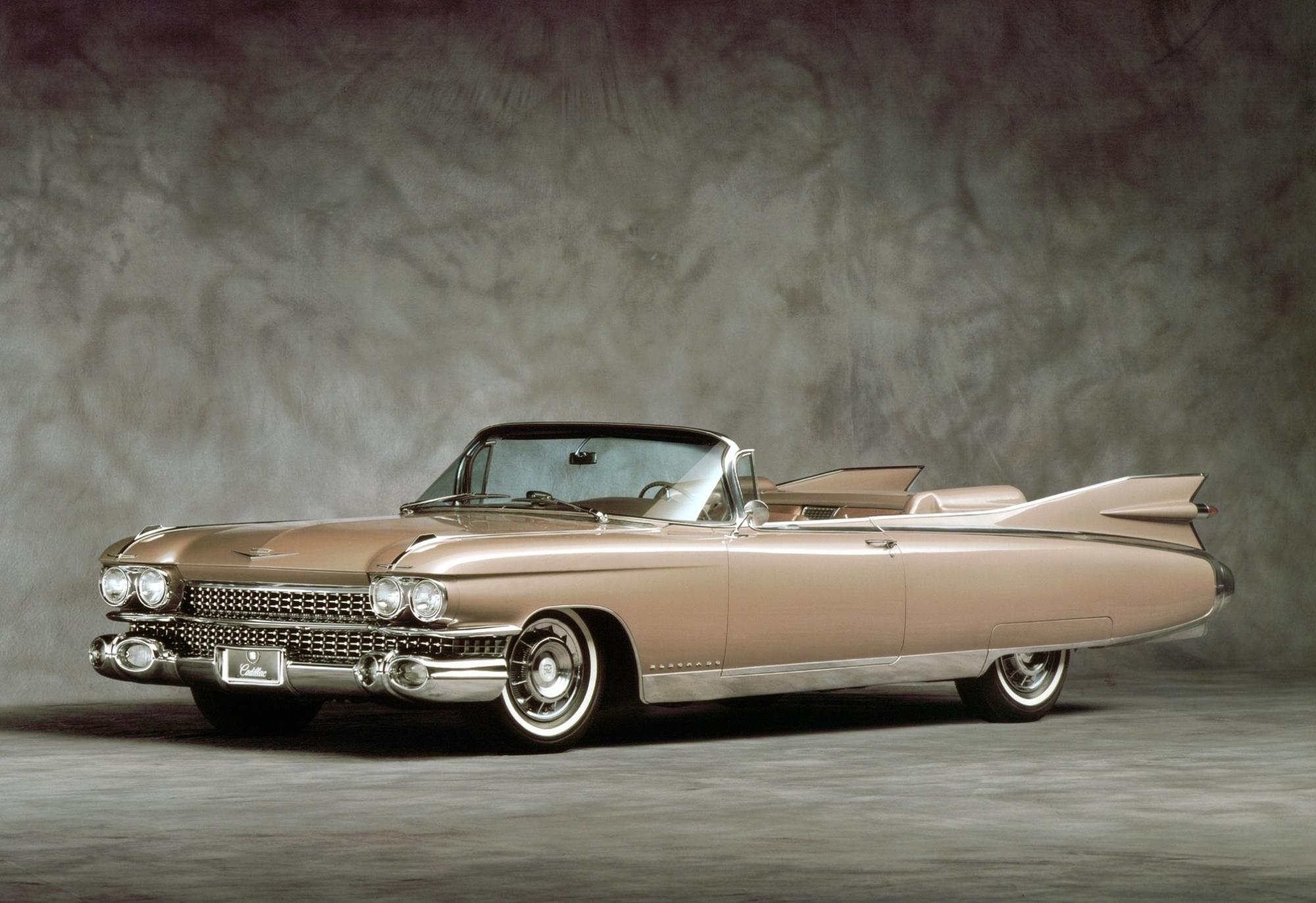 Der 1959er Cadillac Eldorado mit Heckflosse