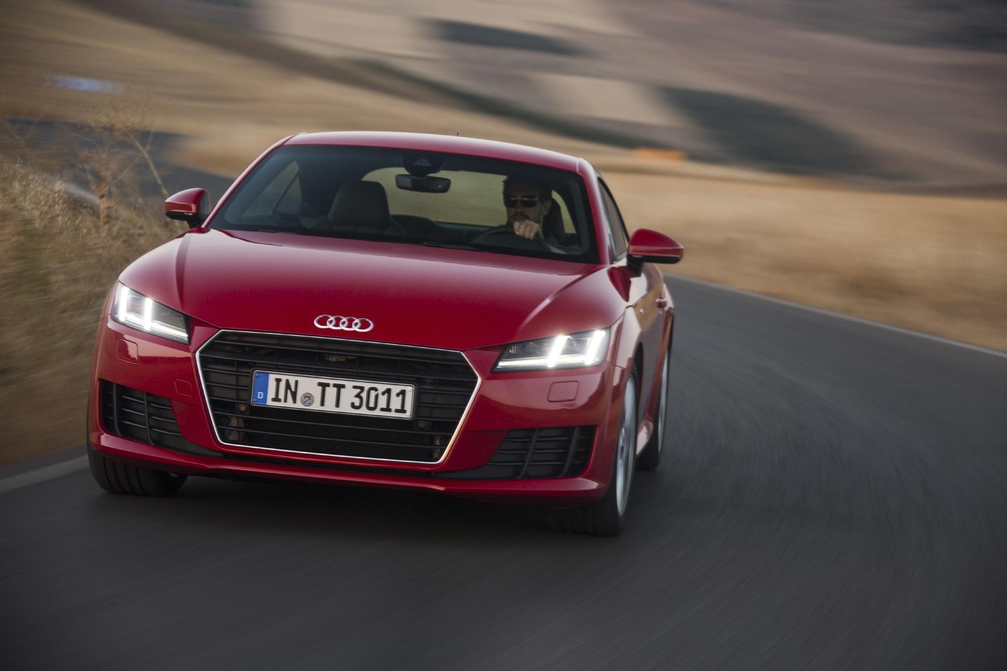 Fahrbericht: Audi TT  - Auto-Kino hinterm Lenkrad