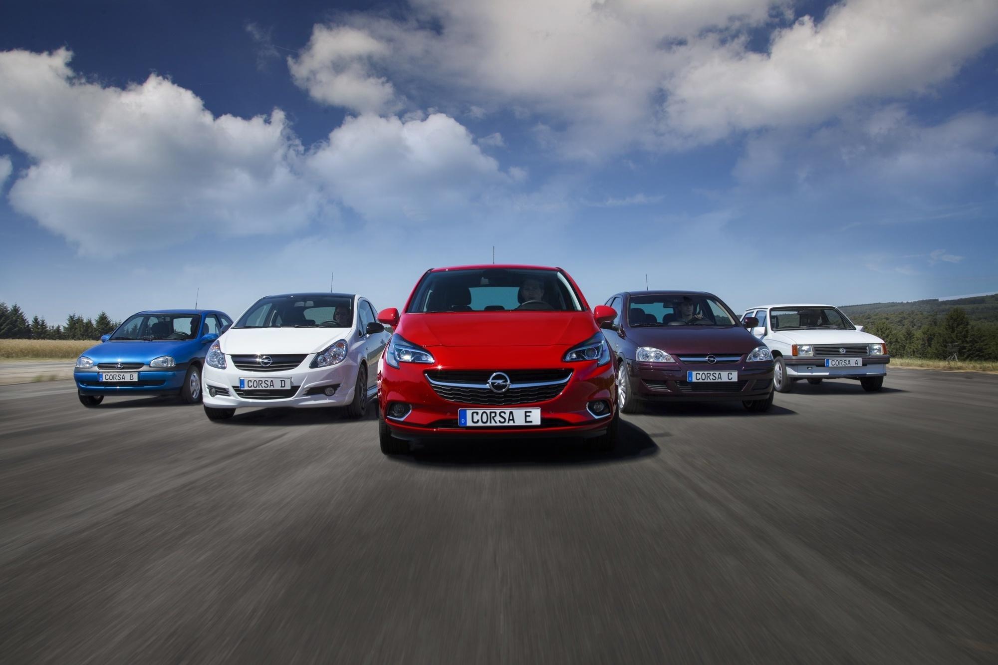 Tradition: Fünf Generationen Opel Corsa - Wilde Kerle und wahre Könige