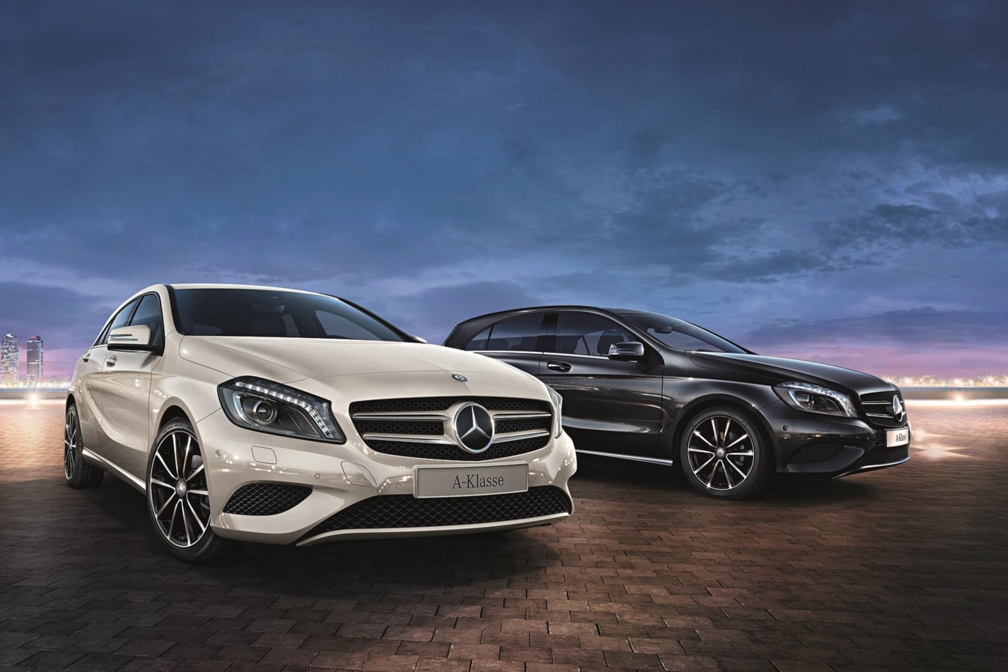 Mercedes-Benz A-Klasse 2Style - Sondermodell mit mehr Komfort und Chic