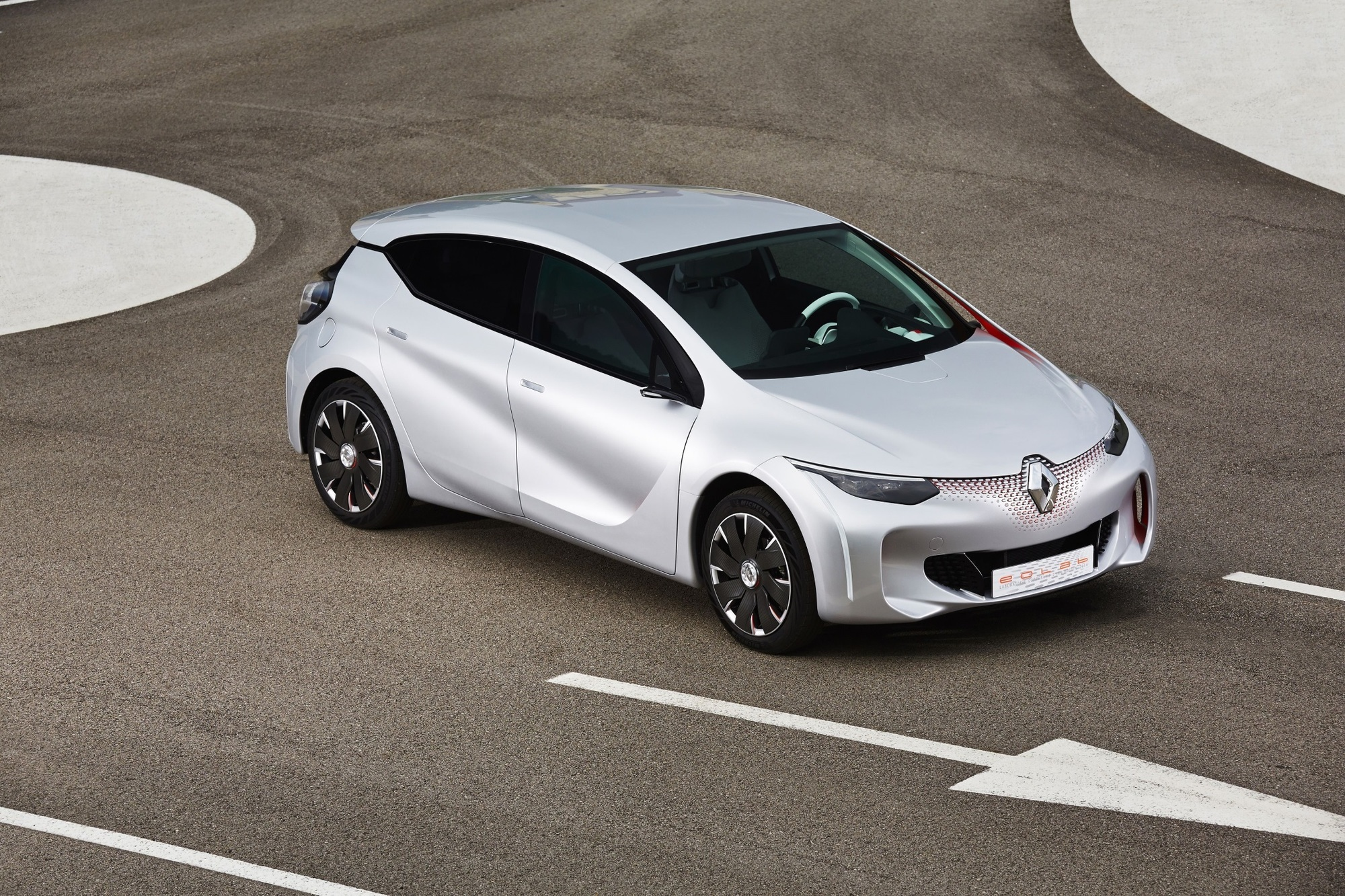 Renault-Studie Eolab - Ein Liter für jeden