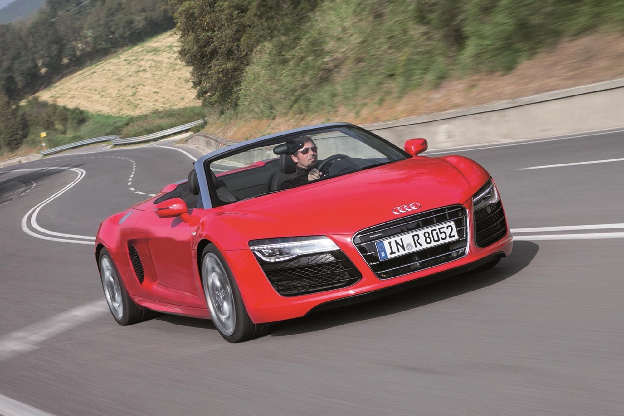 Test: Audi R8 Spyder V10 5.2 - Schön gealtert