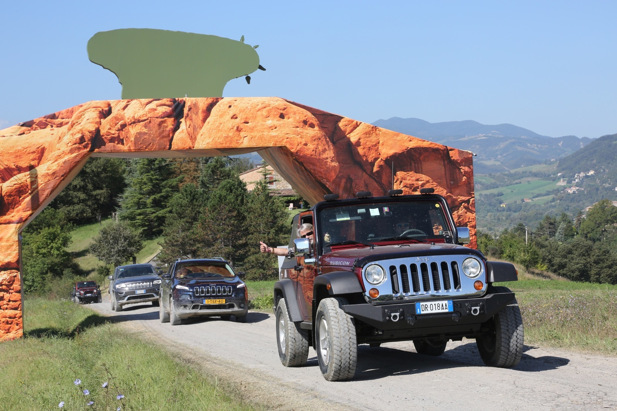 Jeep Camp Italia - Bella figura im Gelände