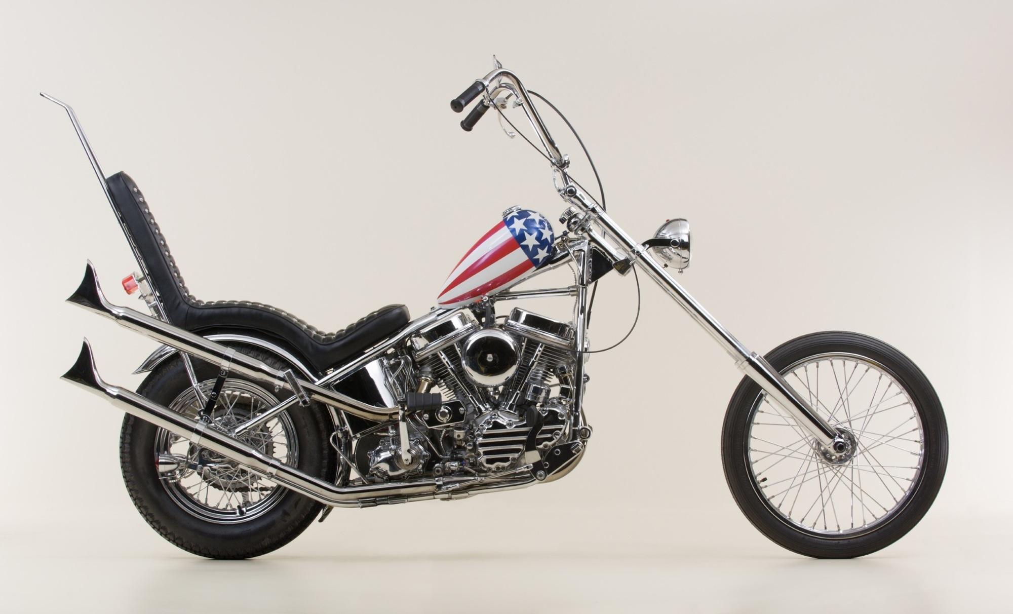 """Captain America unterm Hammer - Die Harley aus """"Easy Rider"""" wird versteigert"""