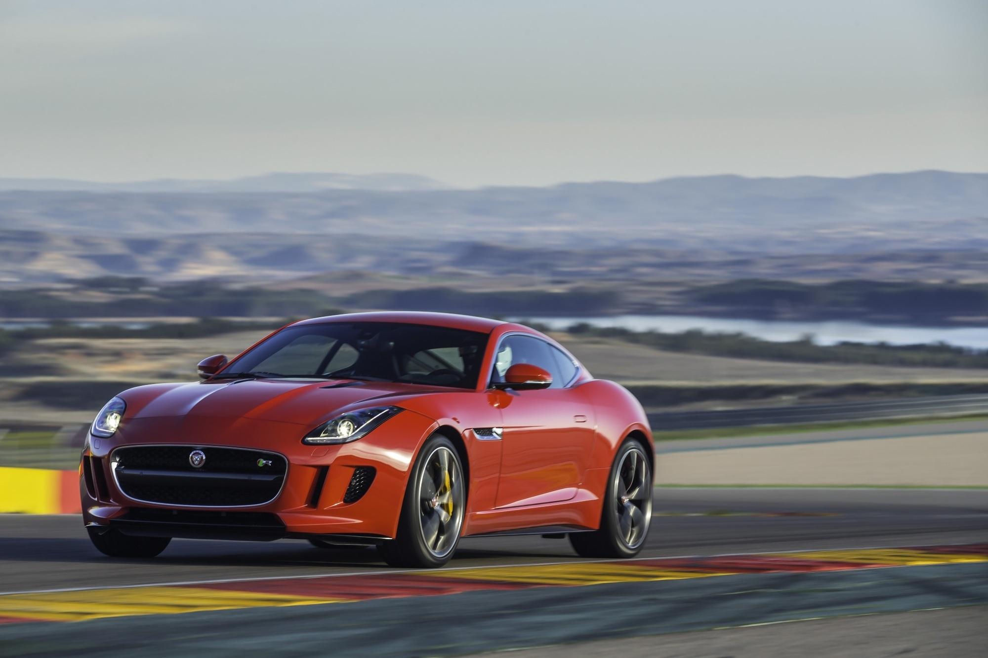 Test: Jaguar F-Type Coupé - Spektakel inklusive