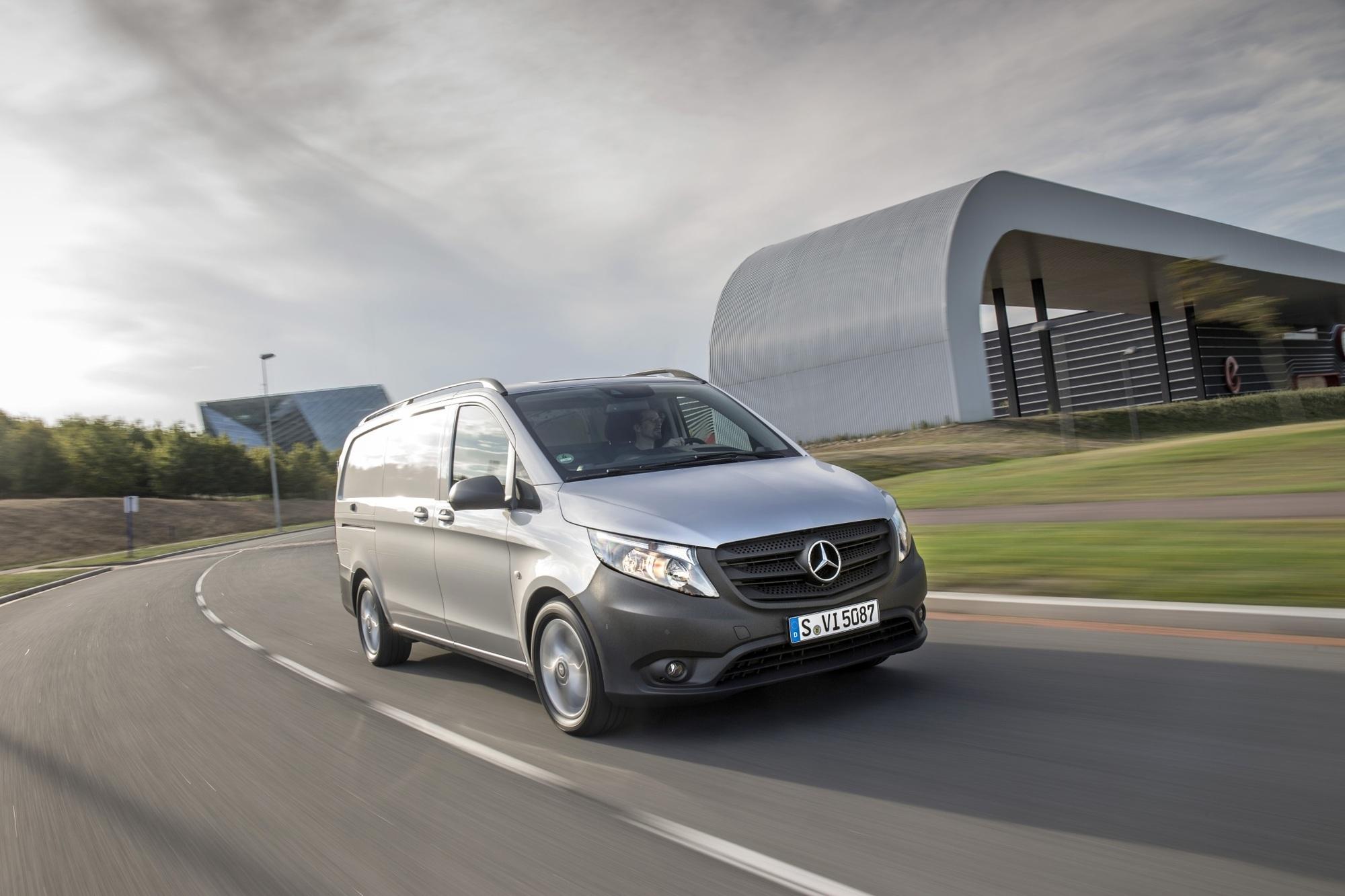 Fahrbericht: Mercedes Vito - Der Stern soll leuchten